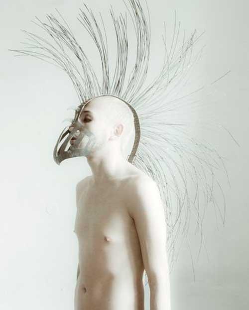 Estilos Mohawk corte de pelo para los hombres-15