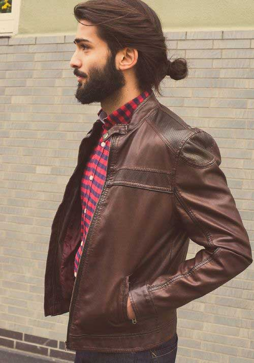 45 peinados largos para los hombres-20