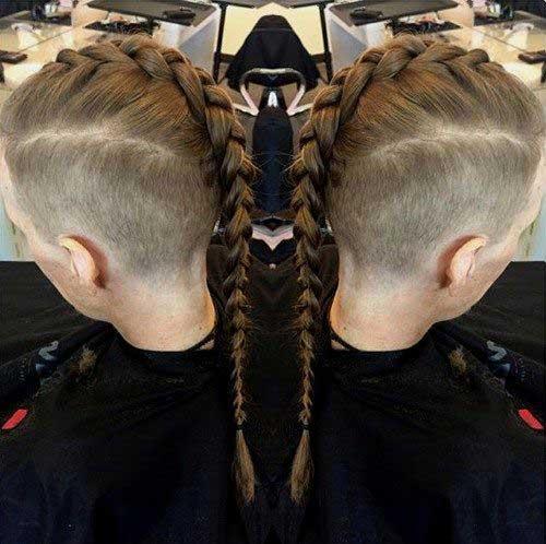 Estilos Mohawk corte de pelo para los hombres-23