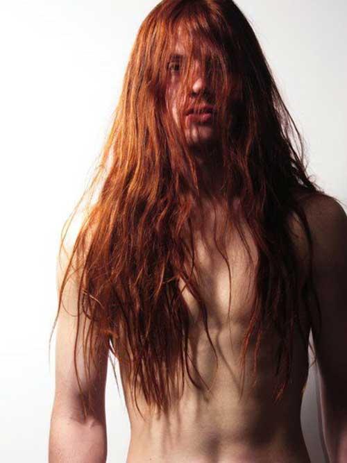 45 peinados largos para los hombres-36
