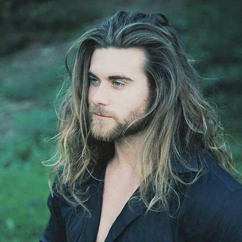 45 peinados largos para los hombres-44