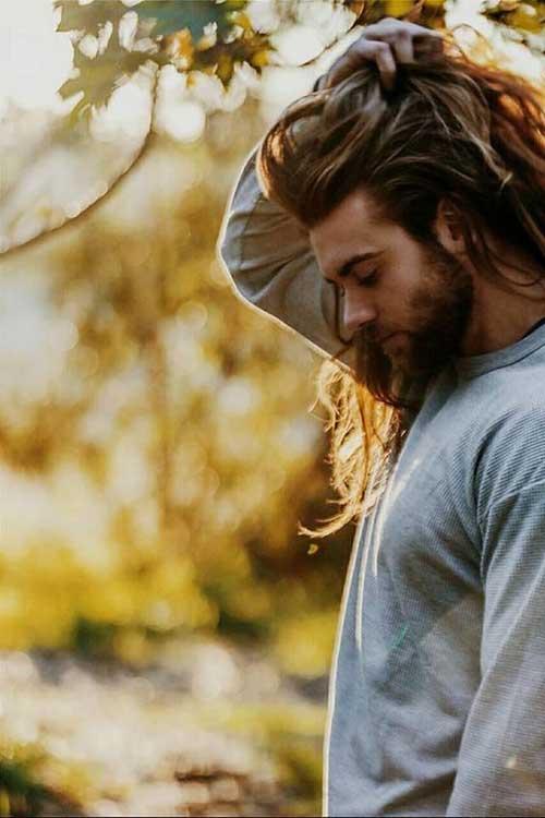 45 peinados largos para los hombres-45