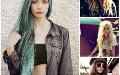 2016 largo y medio de longitud Peinados para las señoras del inconformista