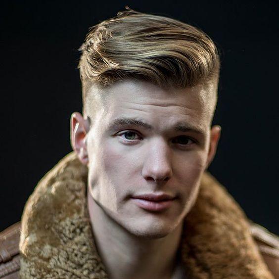 Hombres Inspiring peinados de curva 1