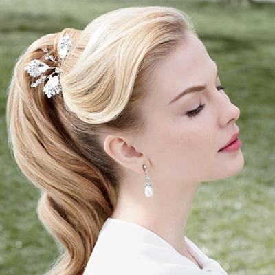 compromiso de la boda peinados de cola