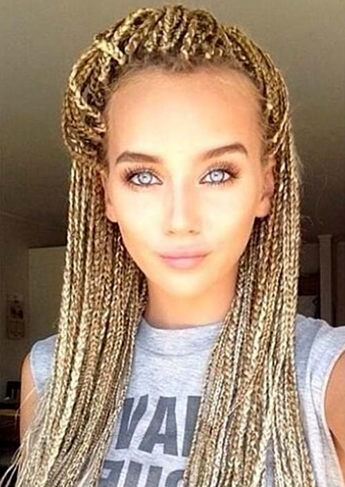 Blonde Micro-Mesh para los negros playa