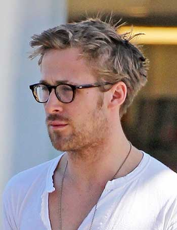 Ryan Gosling Gafas para hombre Peinados
