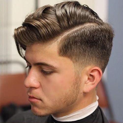 barrido lateral peinado para los hombres 2016