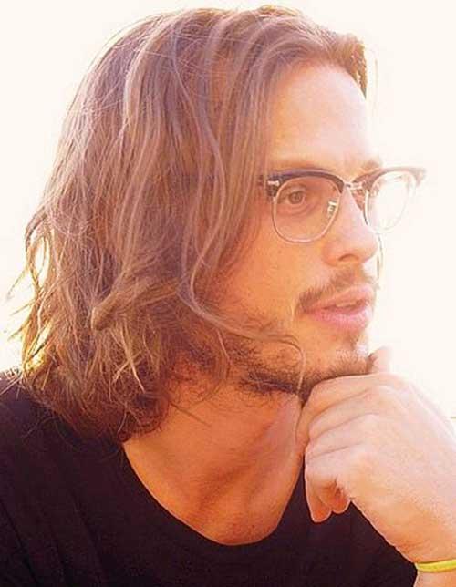 25 Nuevos estilos de cabello para hombres con el pelo largo Super
