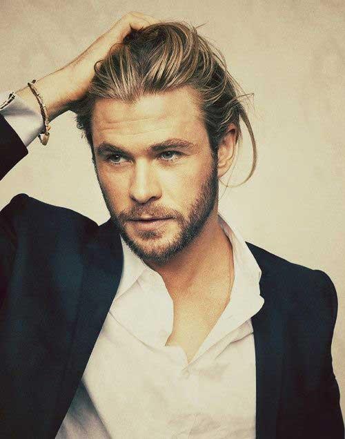 Los peinados para hombres con cabello largo-15