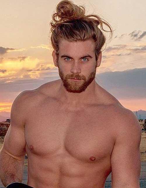 25 Nuevos Estilos De Cabello Para Hombres Con El Pelo Largo Super - Peinado-hombre-largo