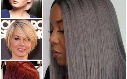 2016/2017 de la Mujer Bob cortes de pelo