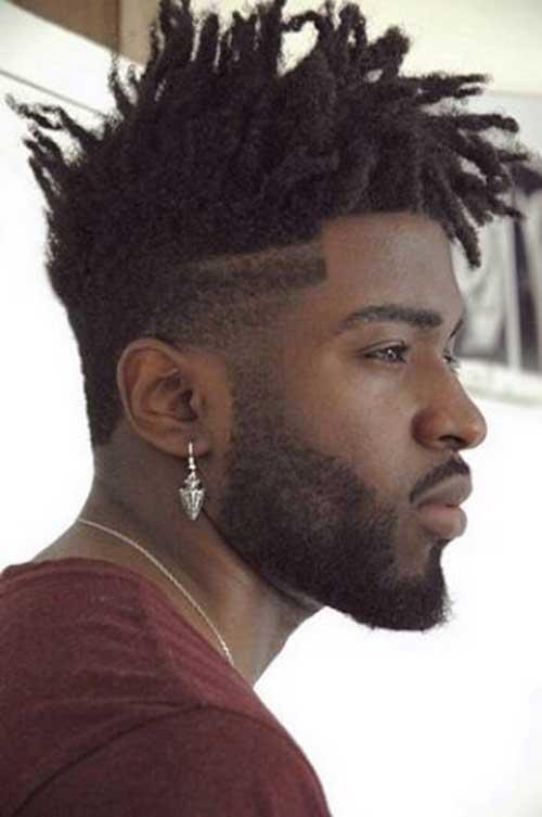Fade Cortes de pelo para los hombres Negro-10