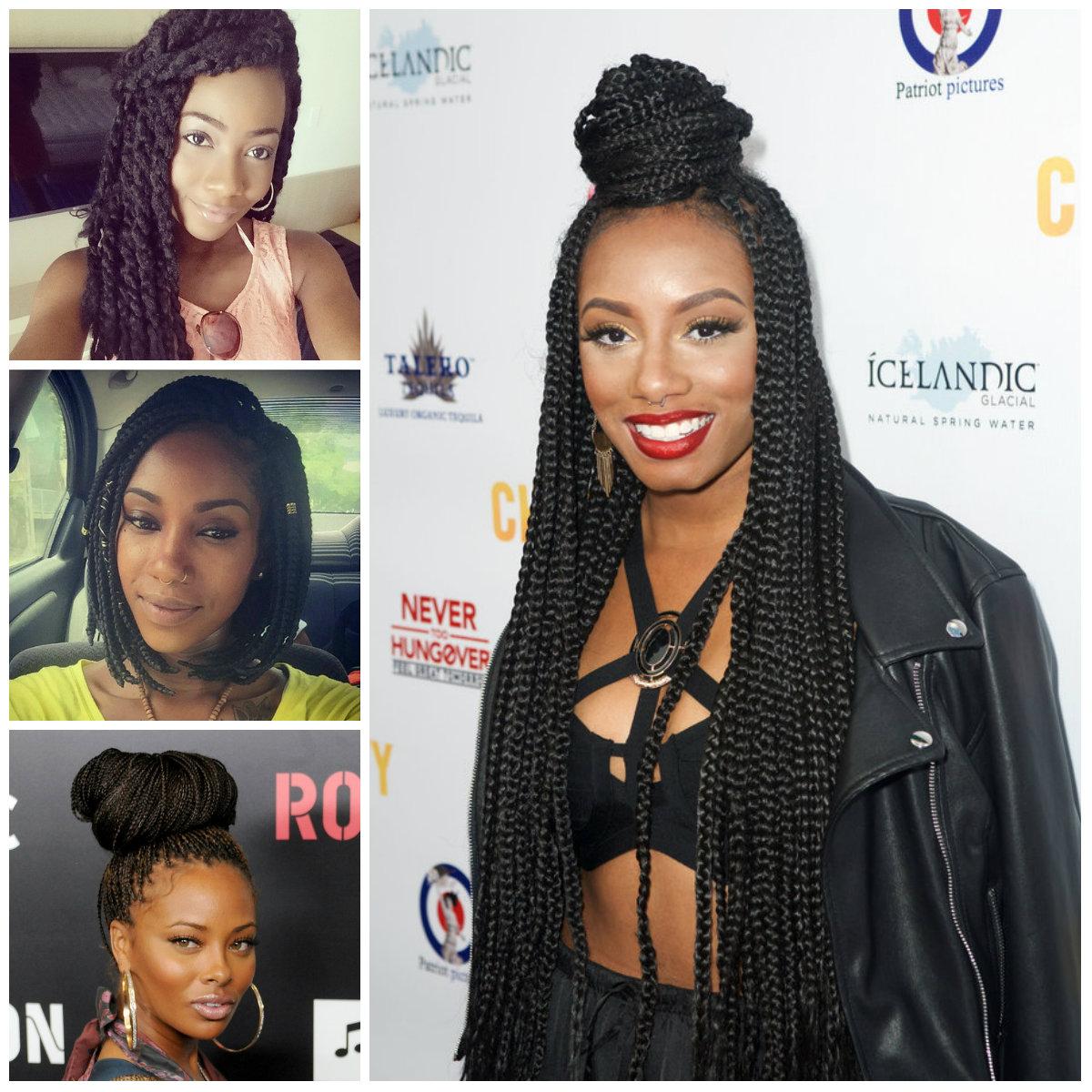 Best Box trenza peinados para las mujeres negras