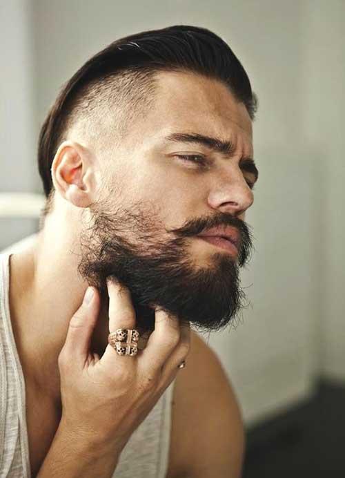 pelo facial en los hombres