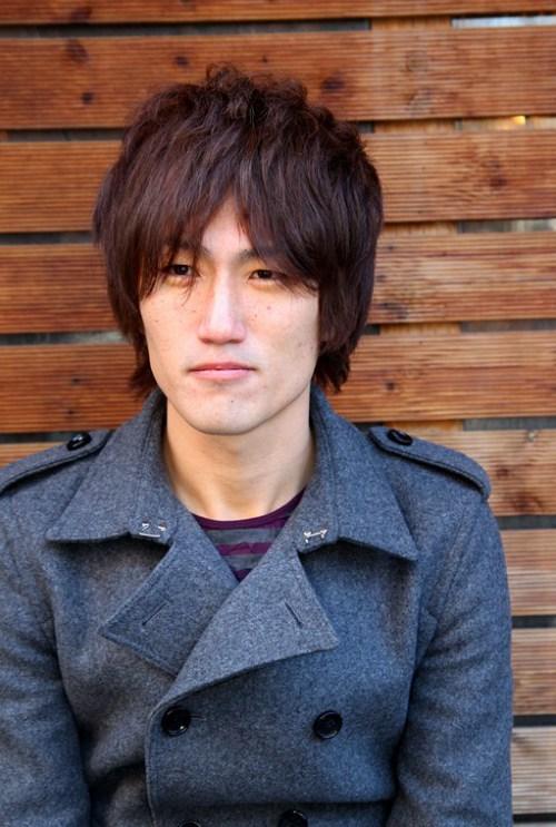 estilo de pelo corto coreana Hombres