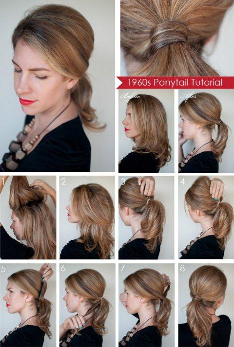 Paso linda estupenda a Paso Peinados
