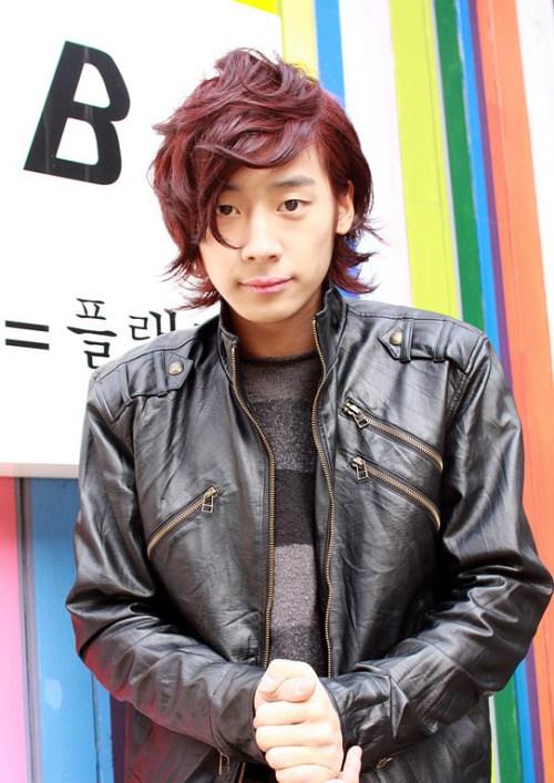 linda coreana chicos jóvenes Peinado