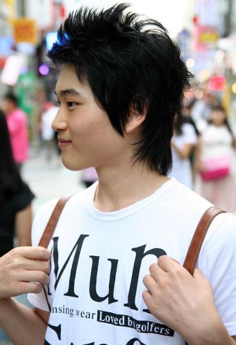 estilos de pelo de Corea para los individuos
