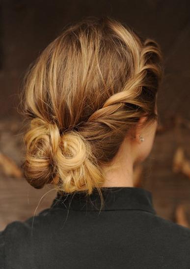 peinado de cola de caballo