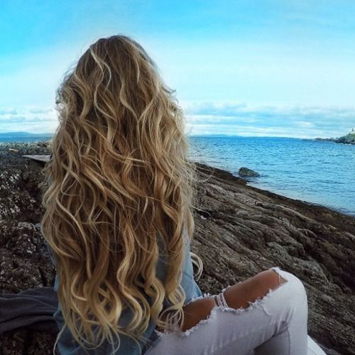 -modelos Más-hermosa-largo pelo