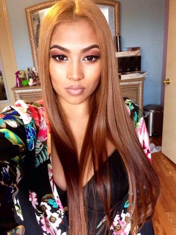 - Modelos-flecos de pelo largo