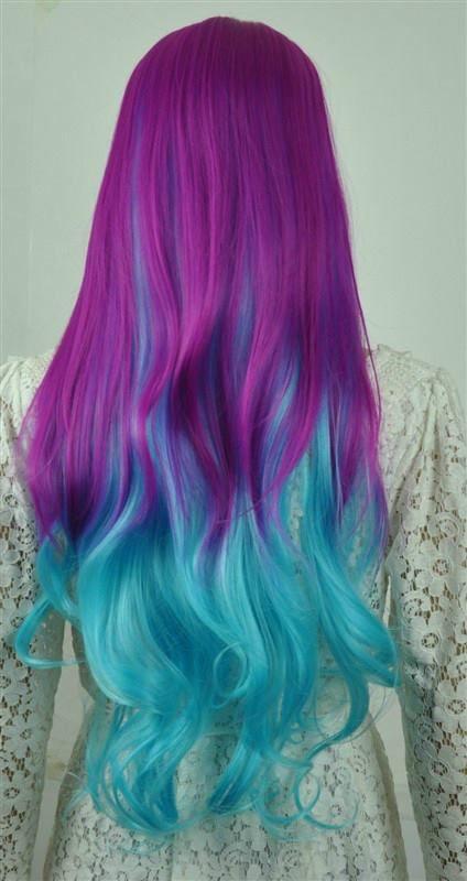 colorido-largas-pelo-modelos