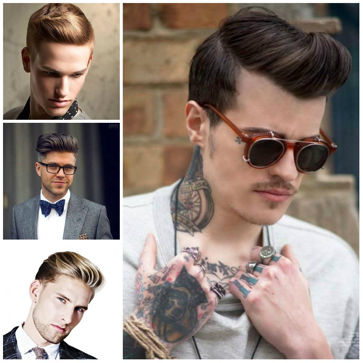 Classic estilos de cabello para los hombres