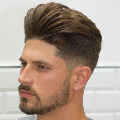 con clase peinados - bajo la forma cónica de fundido con copete