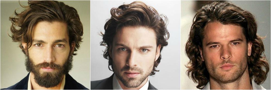 rizado ondulado del pelo de los hombres peinados Mejor Estilo de tipo 2