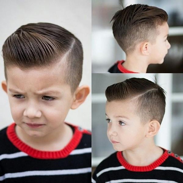 Düz Cormoran Niños peinado