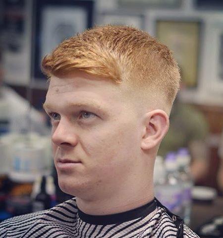 barrido frontal del corte de pelo