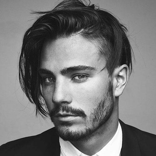 Pretty Boy Peinado - Tallado libre con el pelo largo medio