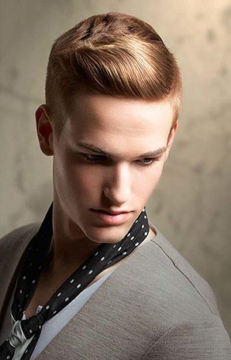 peinado clásico fresco para los hombres