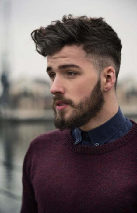 peinado rizado copete 2016