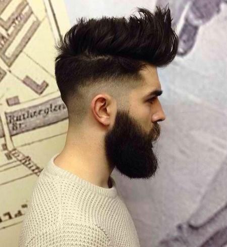 peinado de copete desvaneció 2016