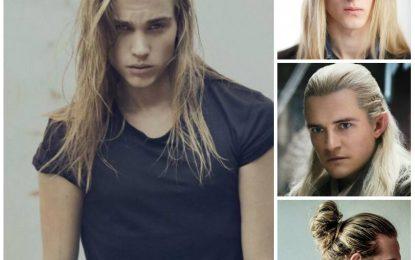 2016 Rubio Largo Peinados para Hombres