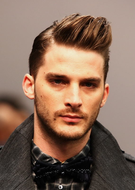 Nuevos cortes de pelo masculinos y peinados 2015 Estilo de entalladura