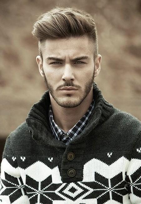 peinado de copete para el cabello en capas 2016