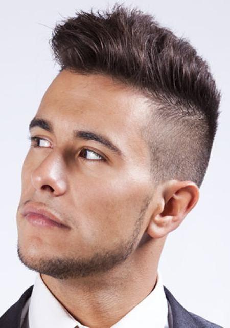 corte de pelo afeitado lado con copete 2016