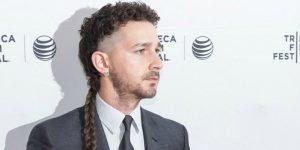 la Shia LaBeouf cola de rata para hombre peores peinados