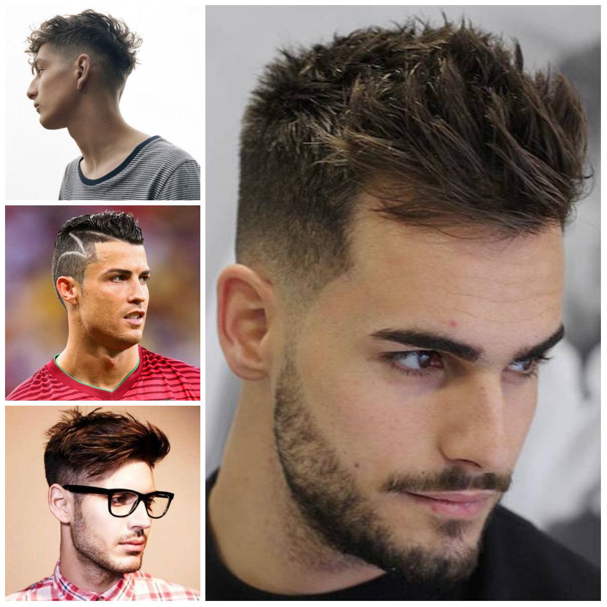 cortes de pelo con corte para los hombres 2016
