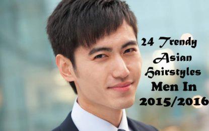 24 moda asiática Peinados Hombres en 2015/2016